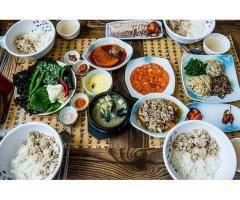 Restaurant coréen à vendre